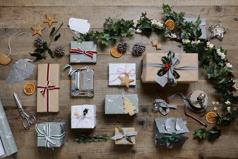 Gift wrapping by Sophie Allport