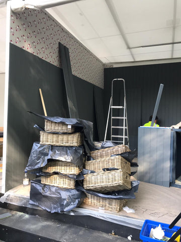 Chelsea stand 2019 - set up for Sophie Allport