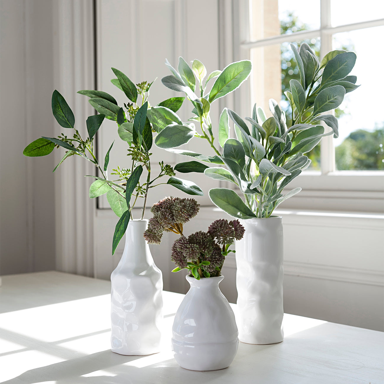 Faux Eucalyptus Spray by Sophie Allport