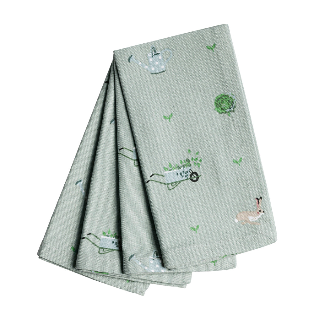 Gardening Napkins - Set of 4