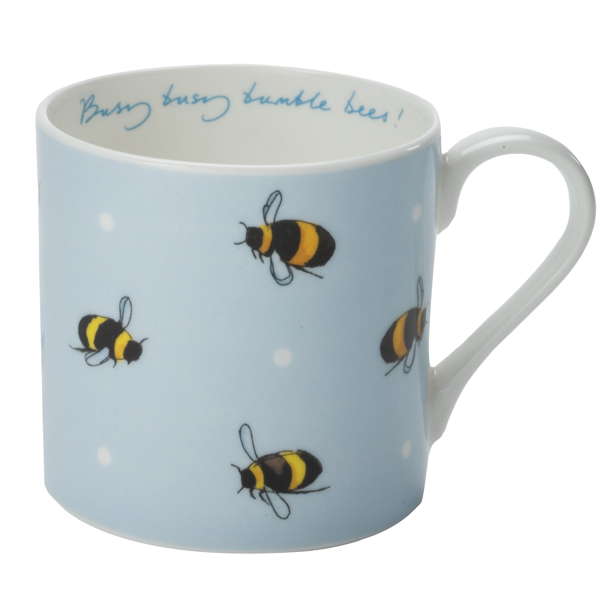 Busy Bee Mug - Blue