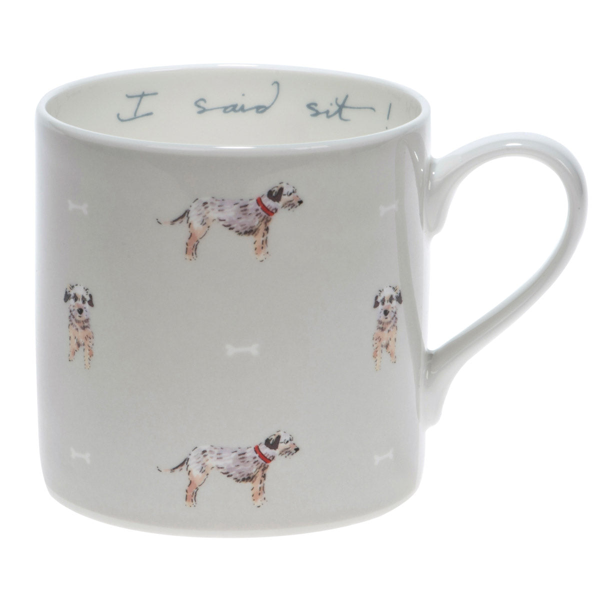 I Said Sit Terrier Coloured Mug