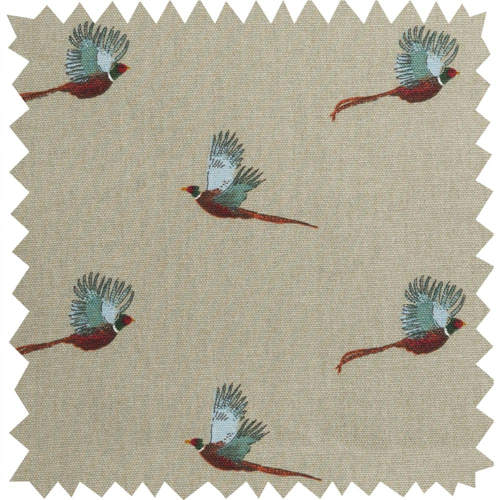 Pheasant Fabric by the Metre