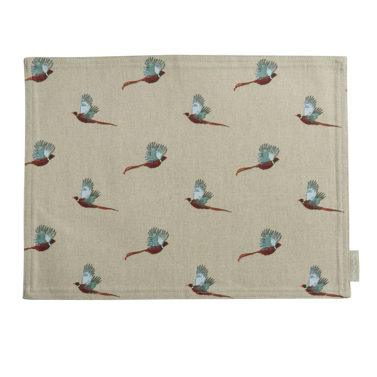 Pheasant Fabric Placemat