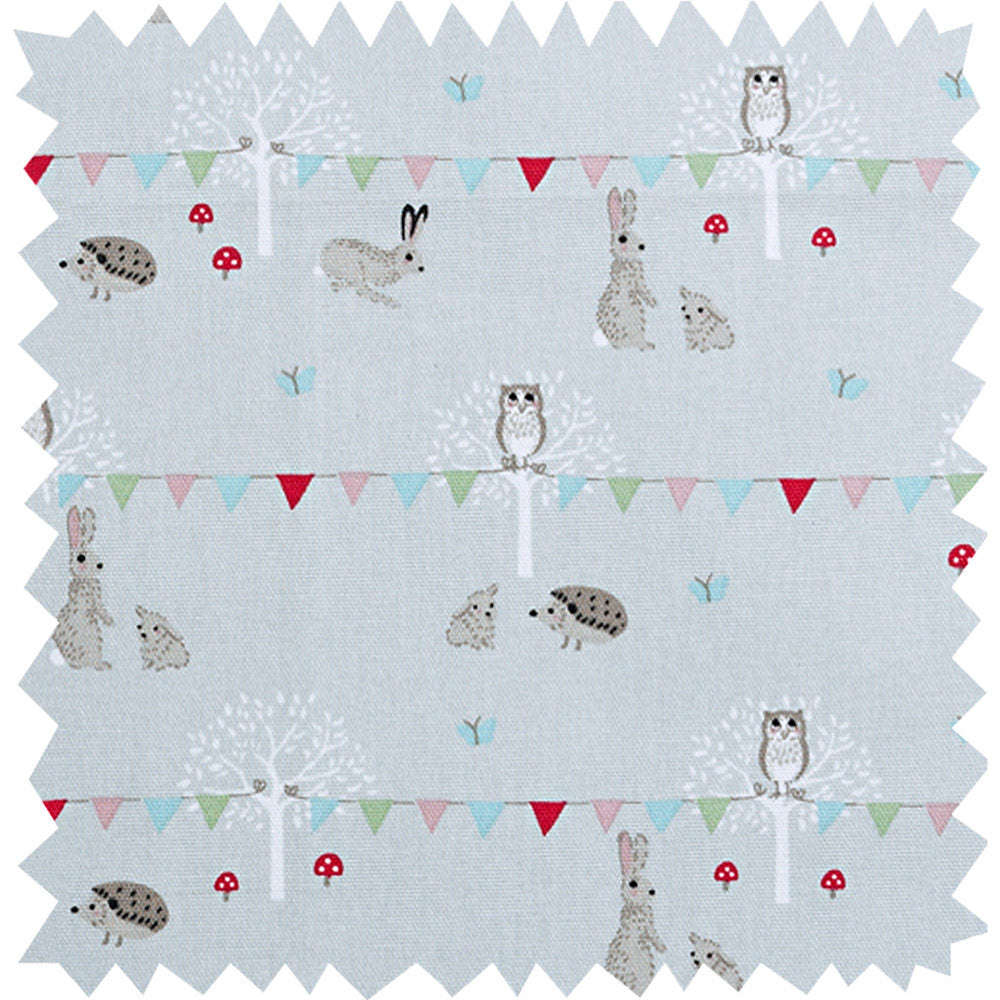 Woodland Party Fabric Sample