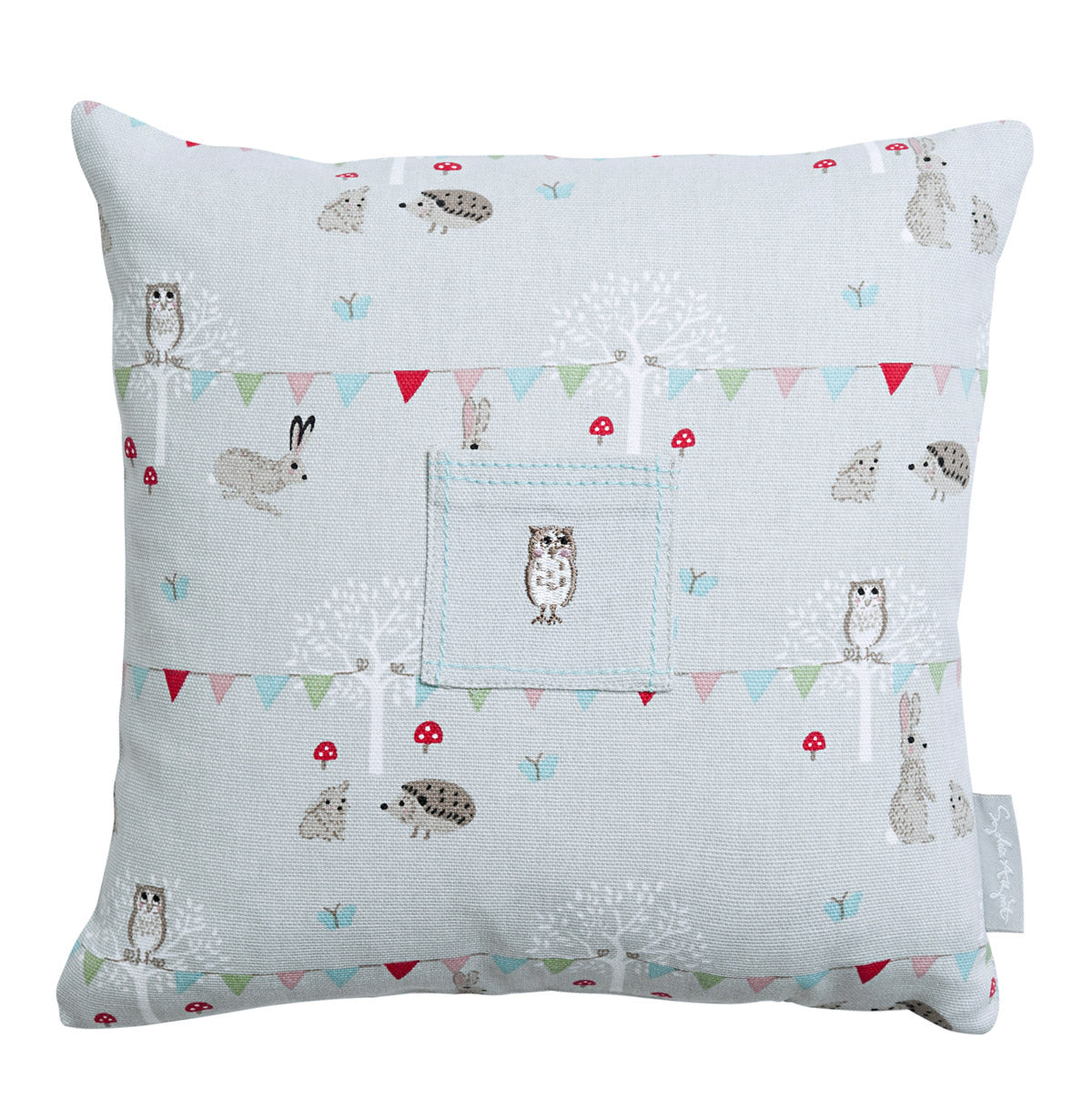 Woodland Party Tooth Fairy Cushion