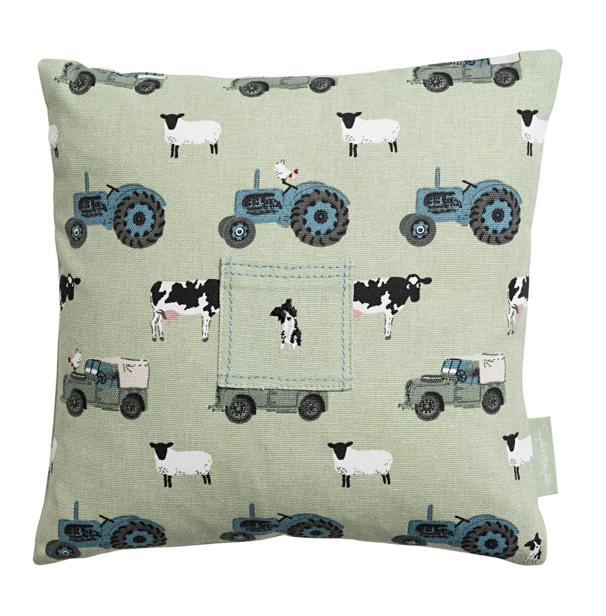 On The Farm Tooth Fairy Cushion