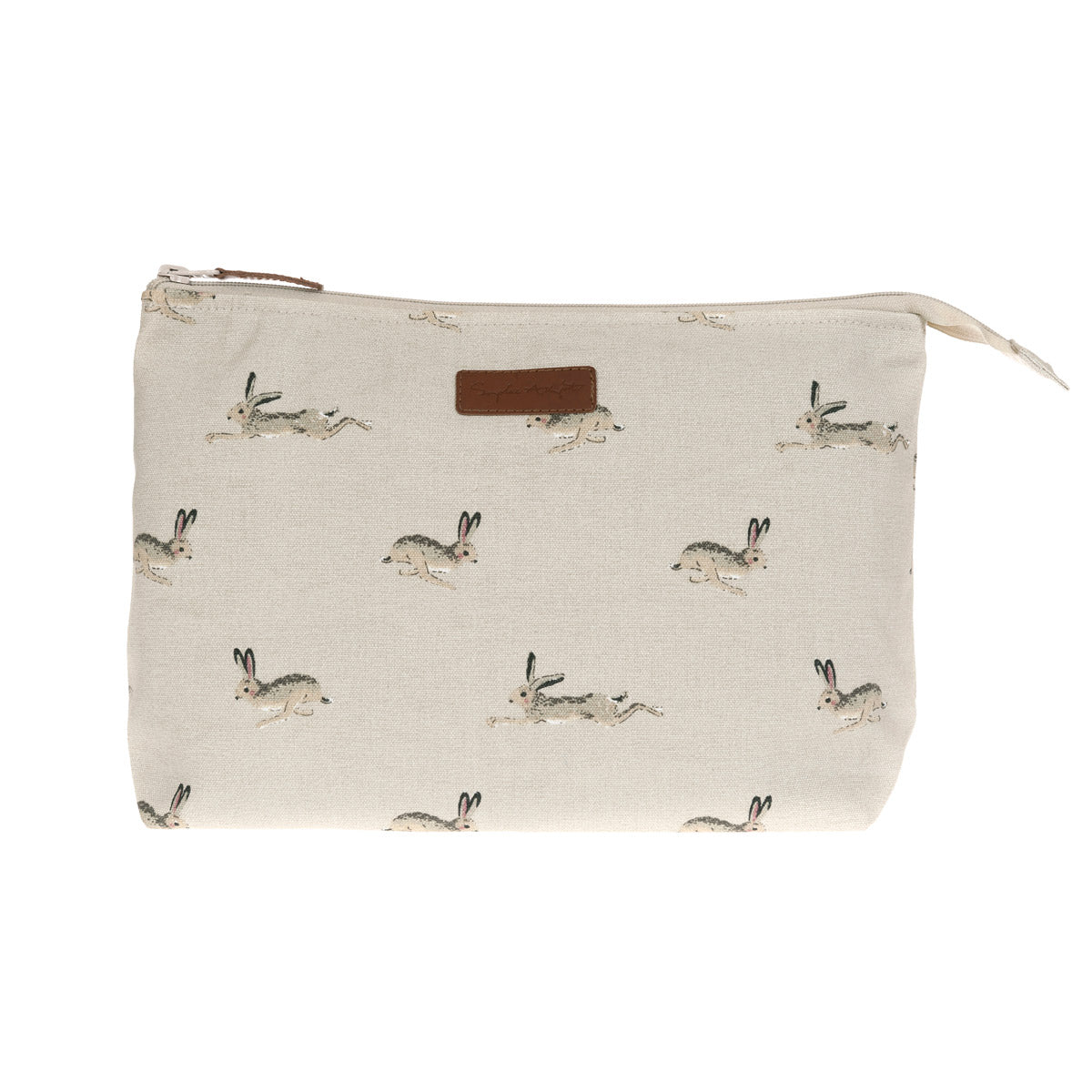Hare Canvas Wash Bag - Large