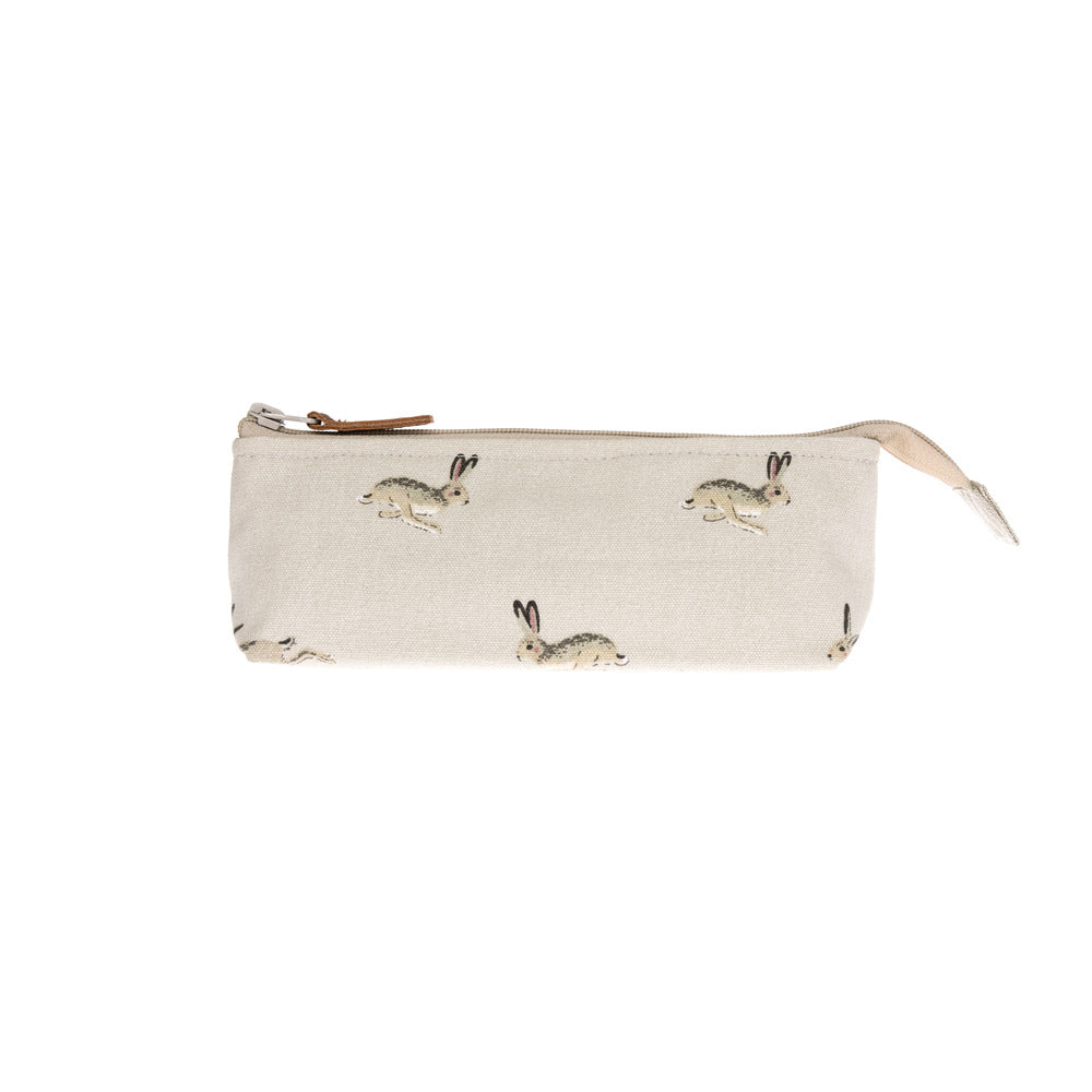 Hare Canvas Accessory Case