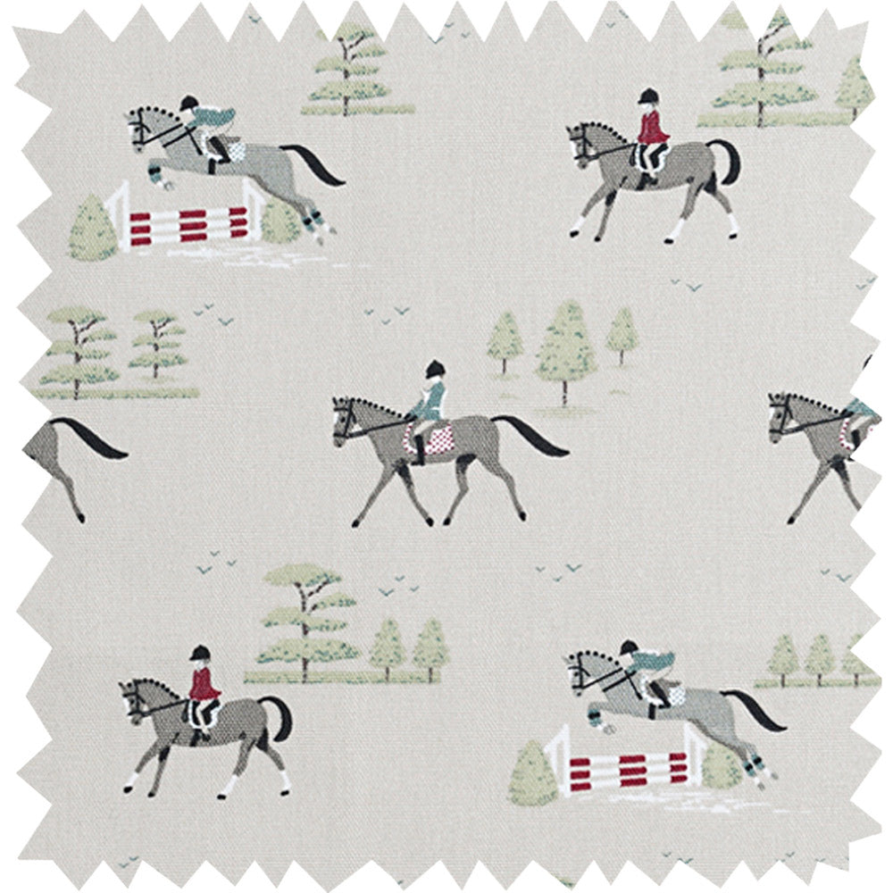 Horses Fabric Sample