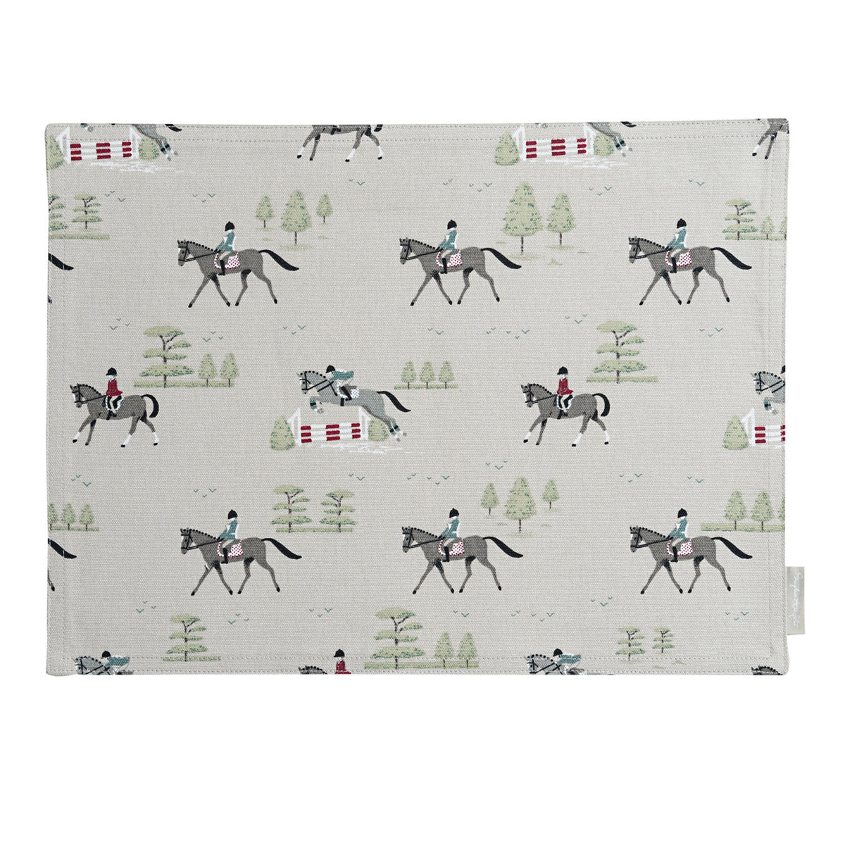 Horses Fabric Placemat