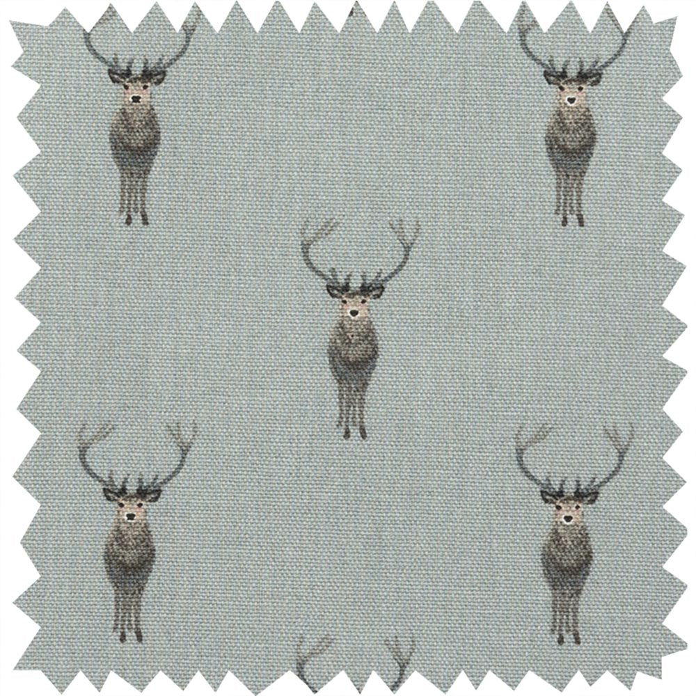 Highland Stag Fabric Sample