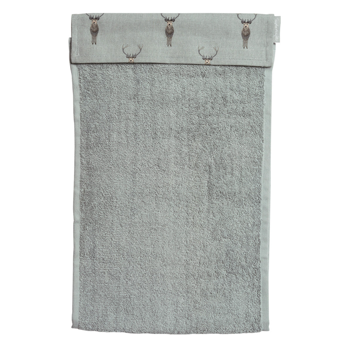 Highland Stag Roller Hand Towel