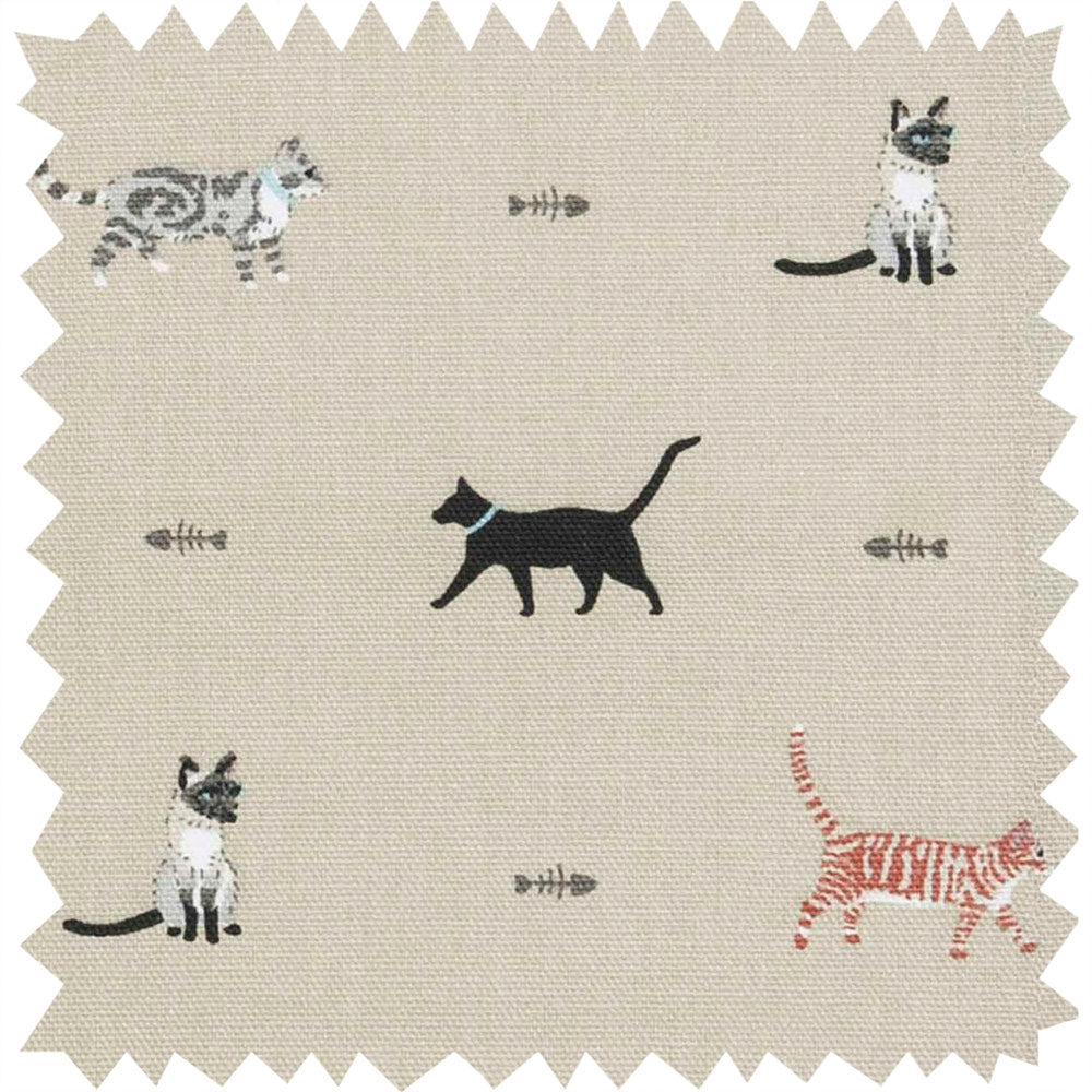 Purrfect Fabric by the Metre