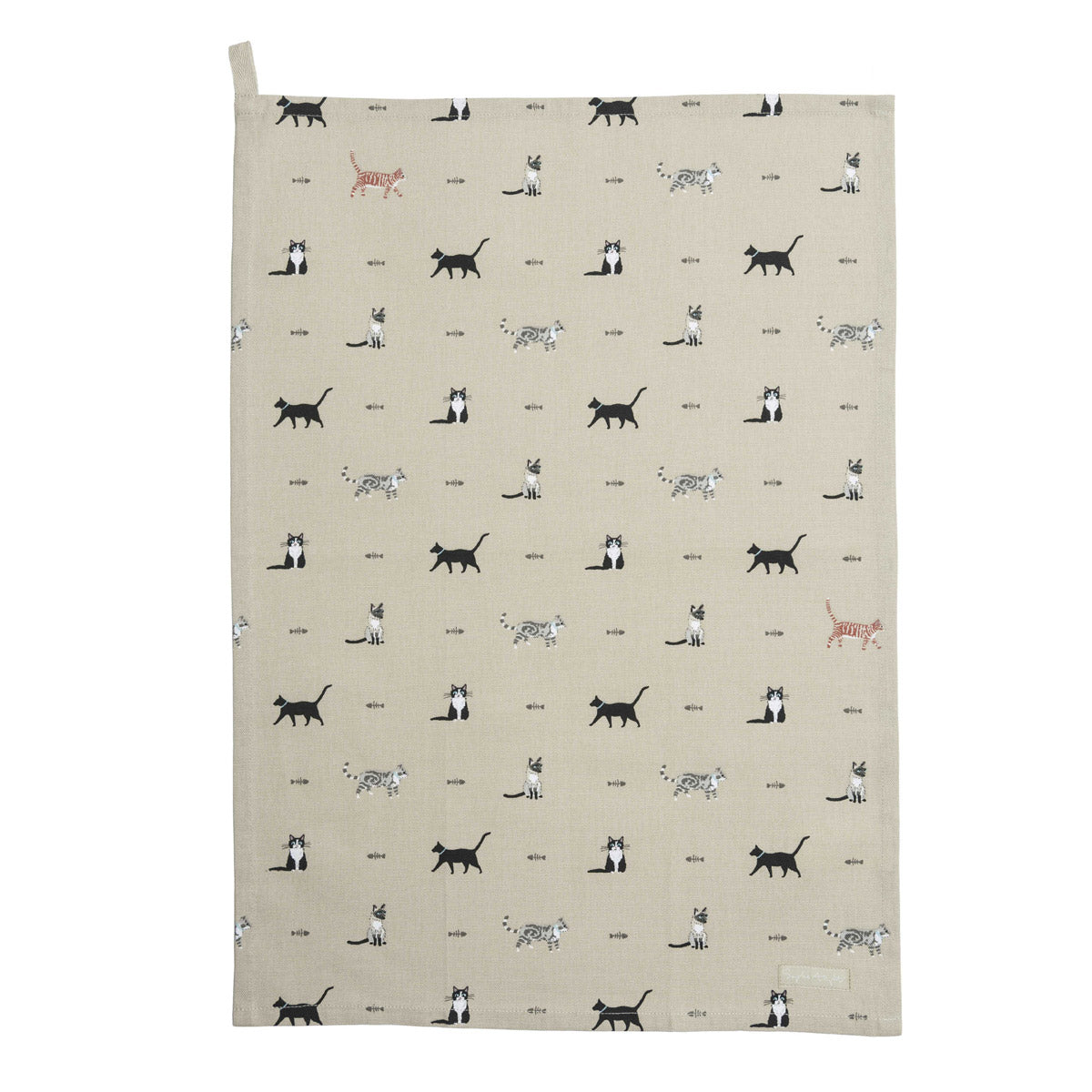 Purrfect Tea Towel
