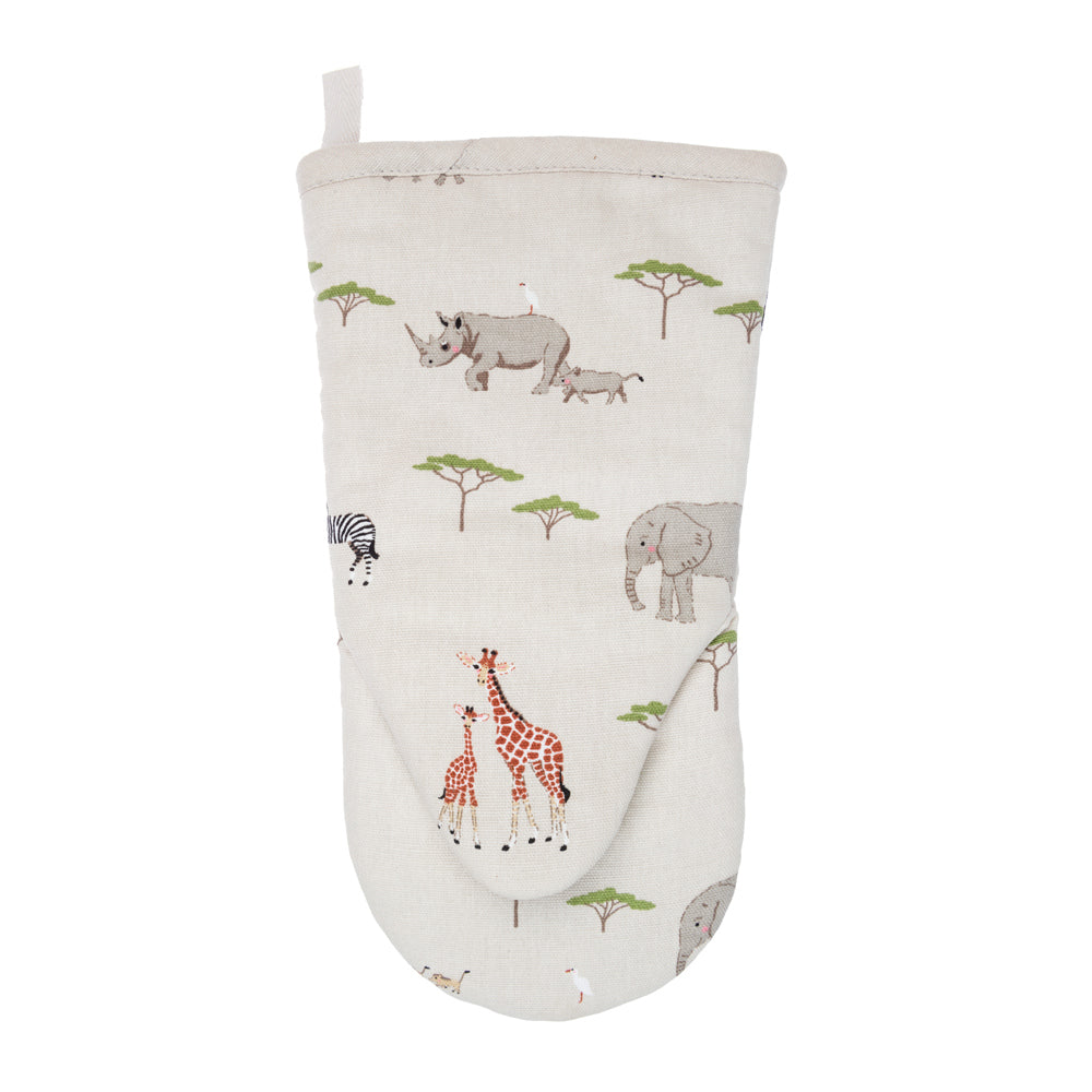 Safari Oven Mitt