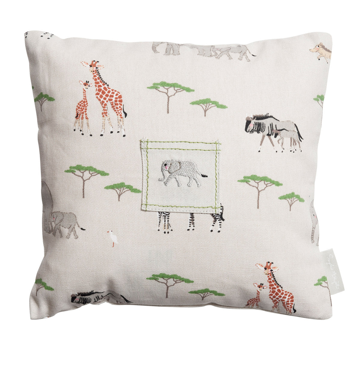 Safari Tooth Fairy Cushion