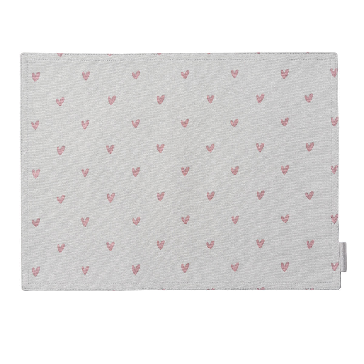 Hearts Fabric Placemat