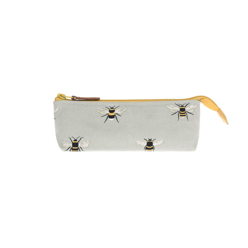 Bees Canvas Accessory Case
