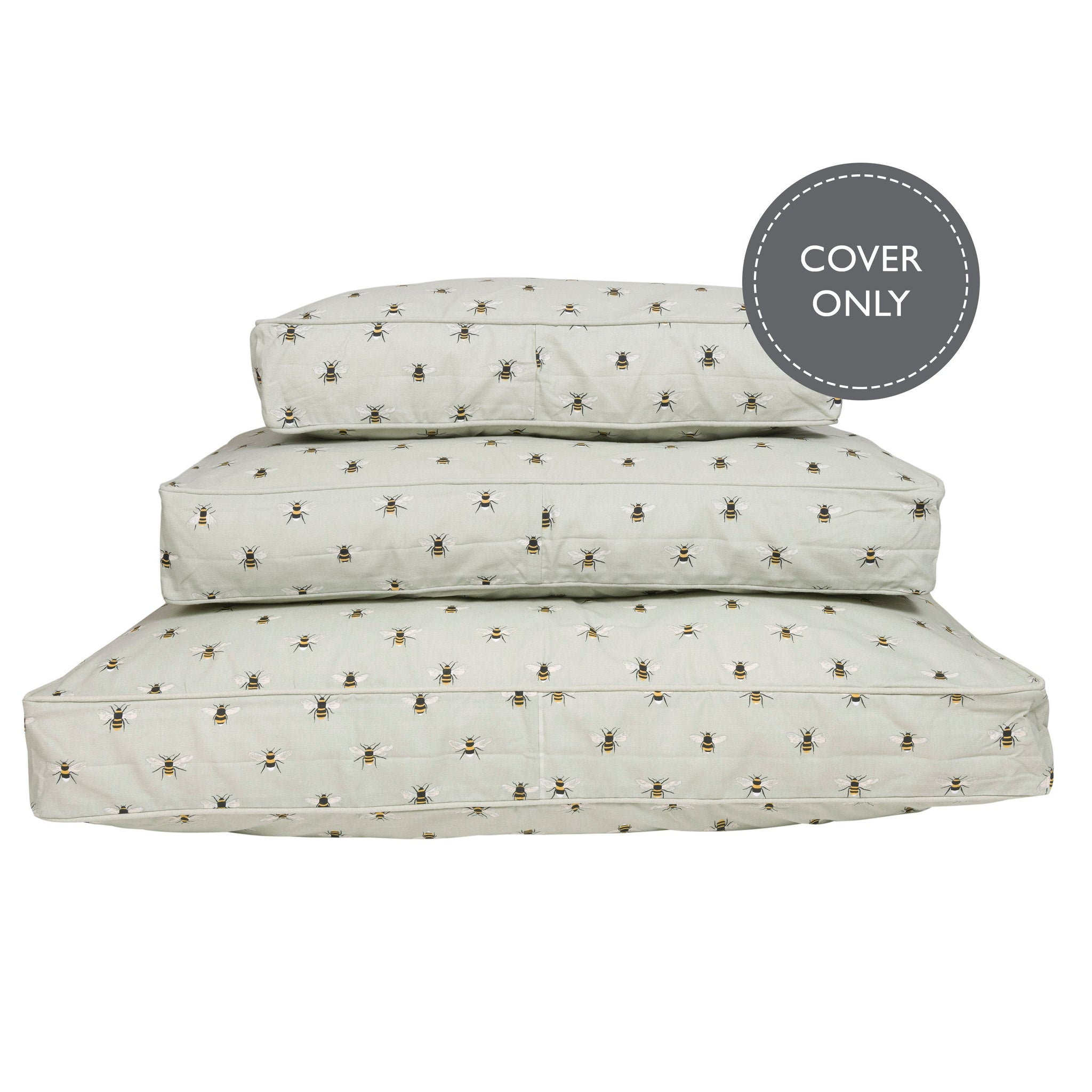Bees Pet Mattress Cover by Sophie Allport