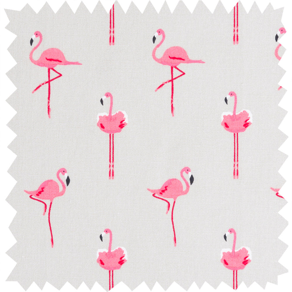 Flamingos Fabric Sample