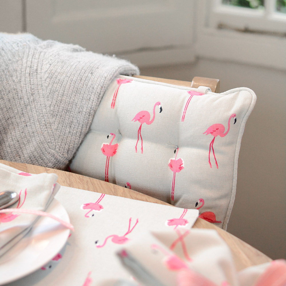 Flamingos Chair Pad