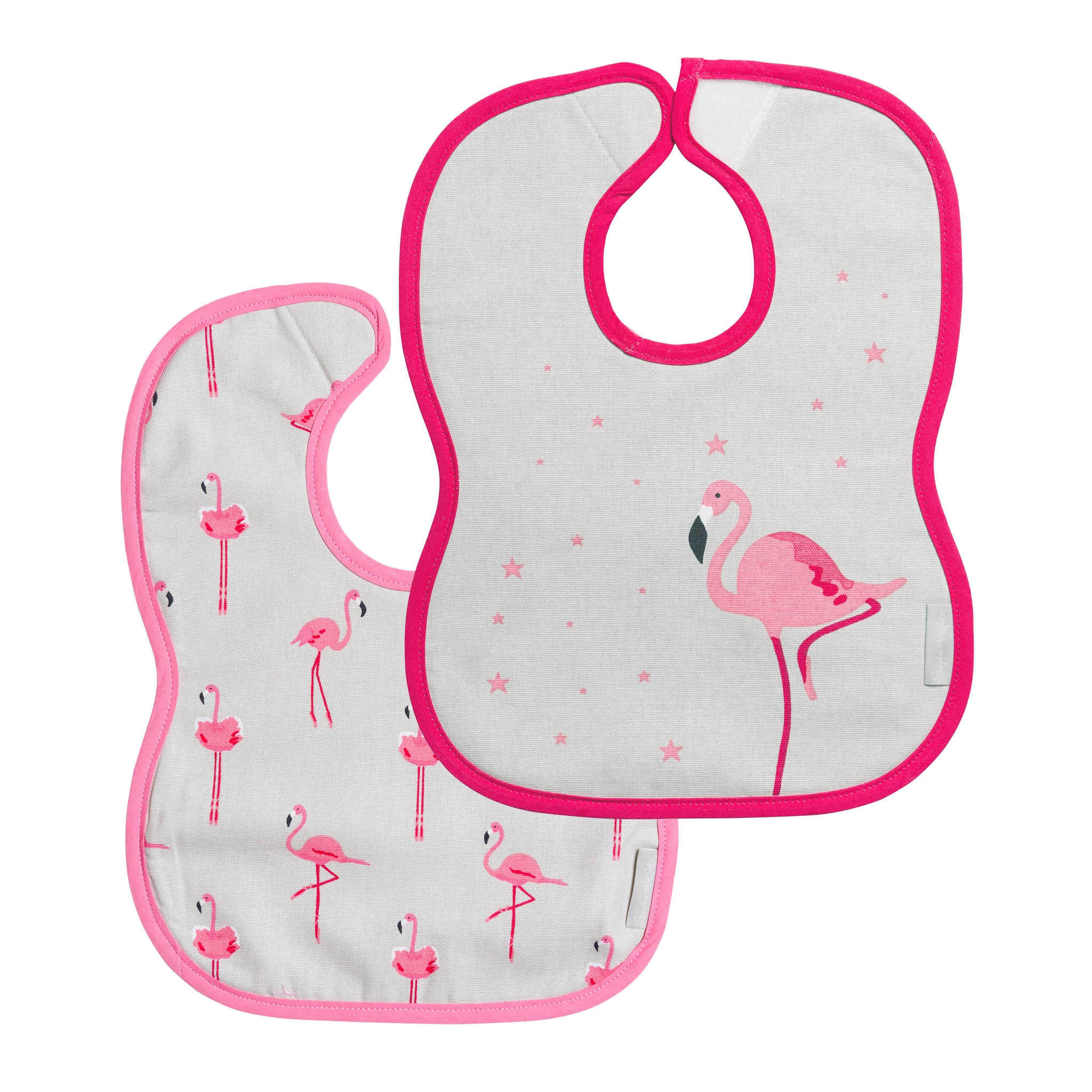 Flamingos Bibs (Set of 2)