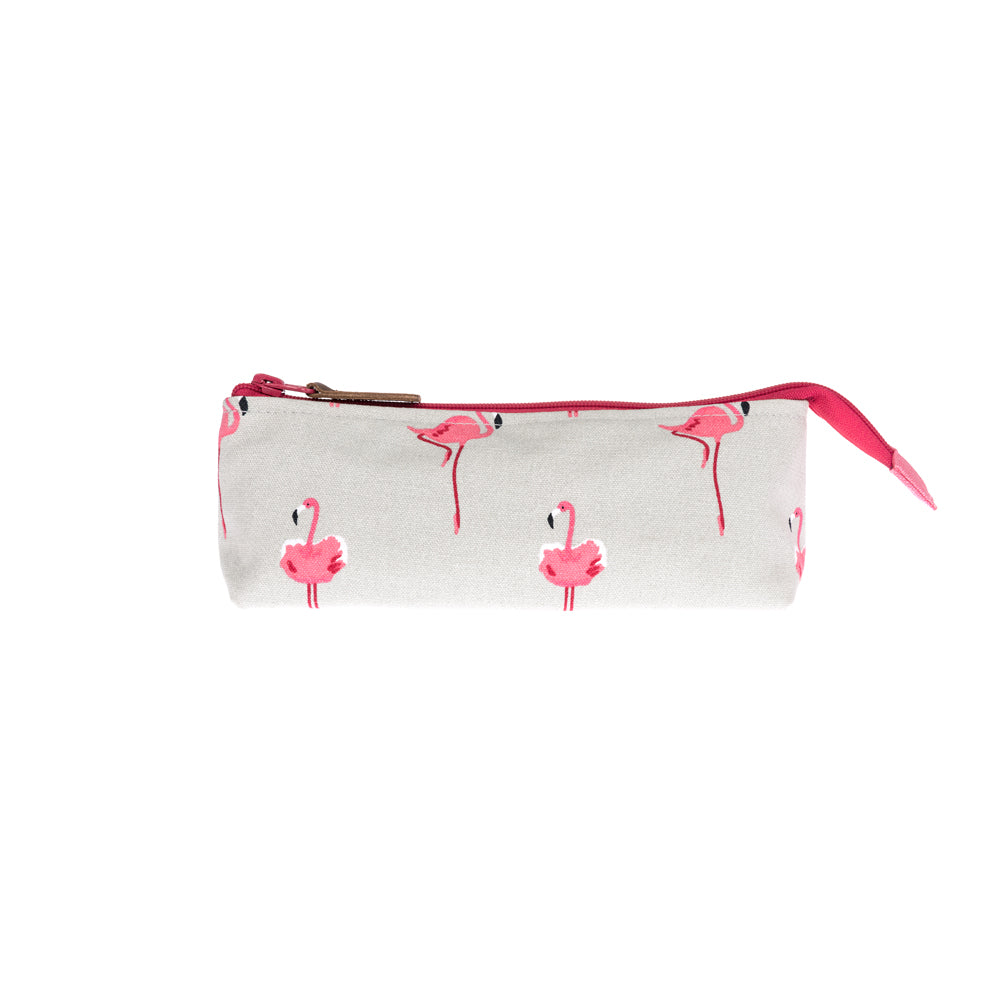 Flamingos Canvas Accessory Case