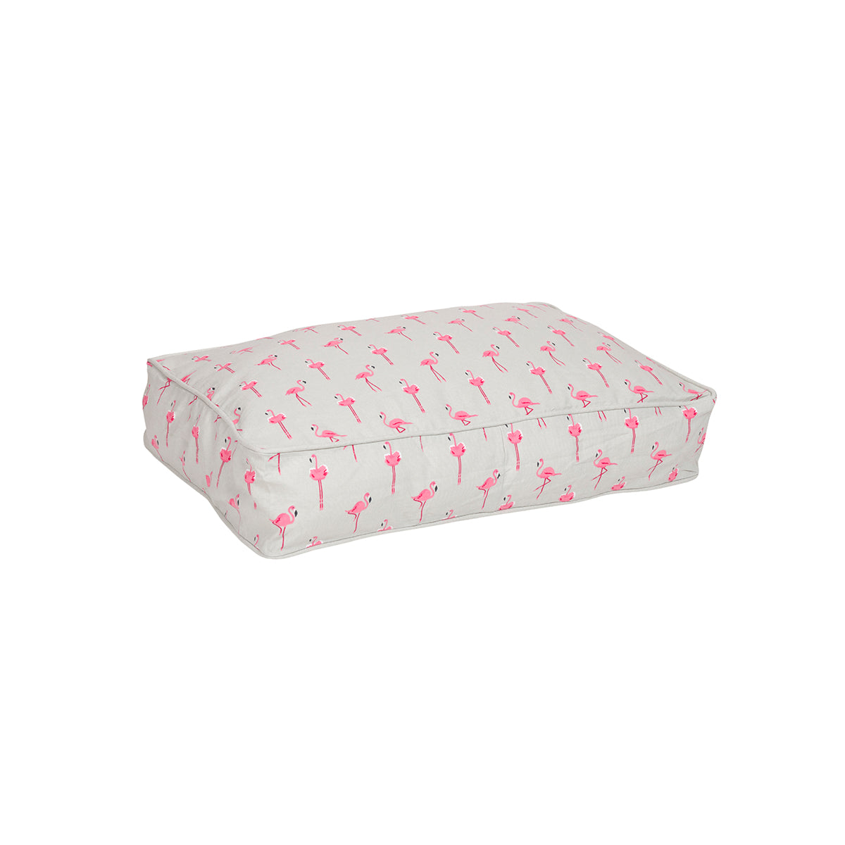 Flamingos Pet Bed Mattress by Sophie Allport