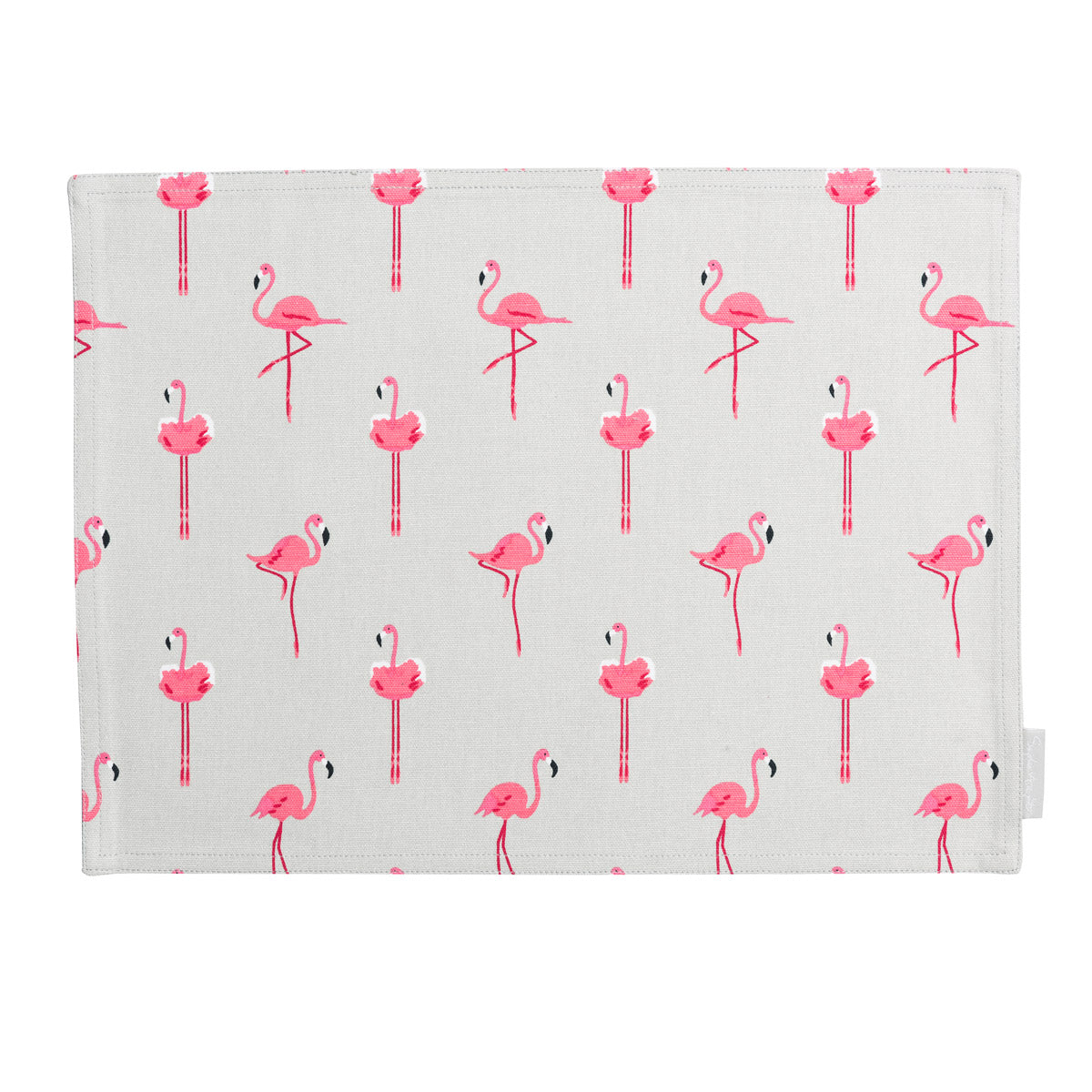 Flamingos Fabric Placemat