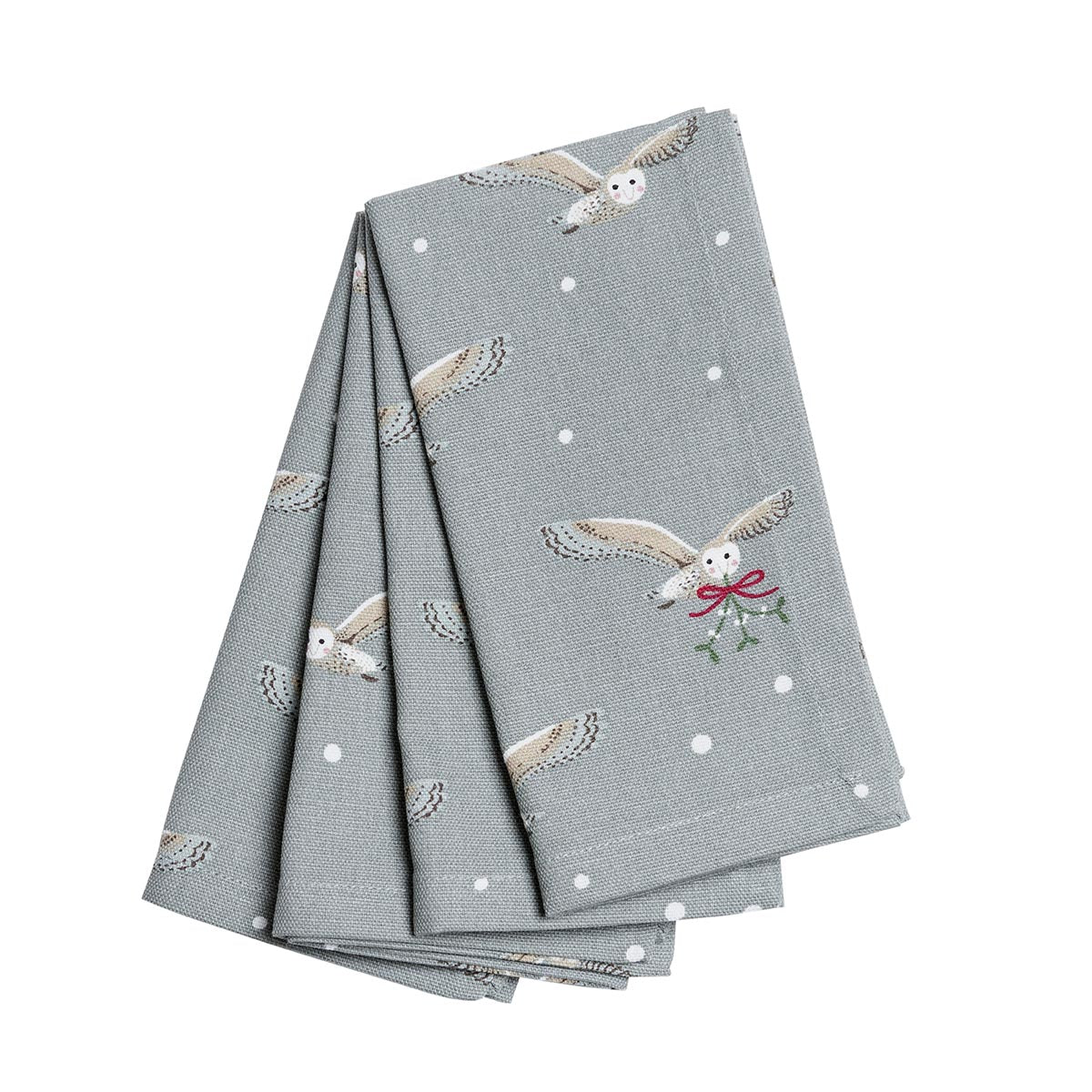 Night Owl Napkins - Set of 4