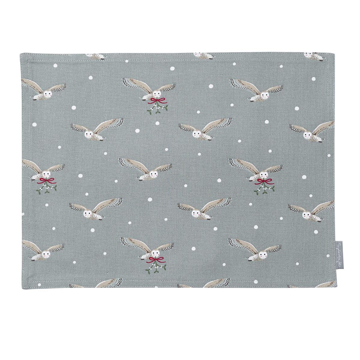 Night Owl Fabric Placemat