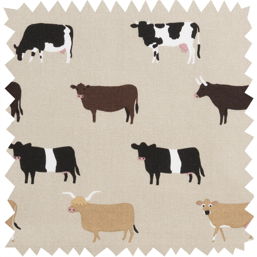 Cows Fabric Sample