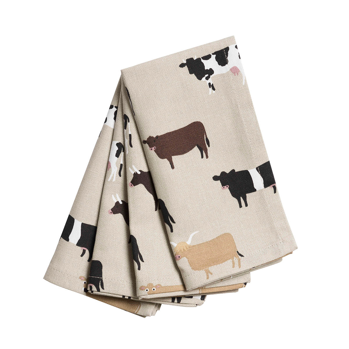 Cows Napkins - Set of 4