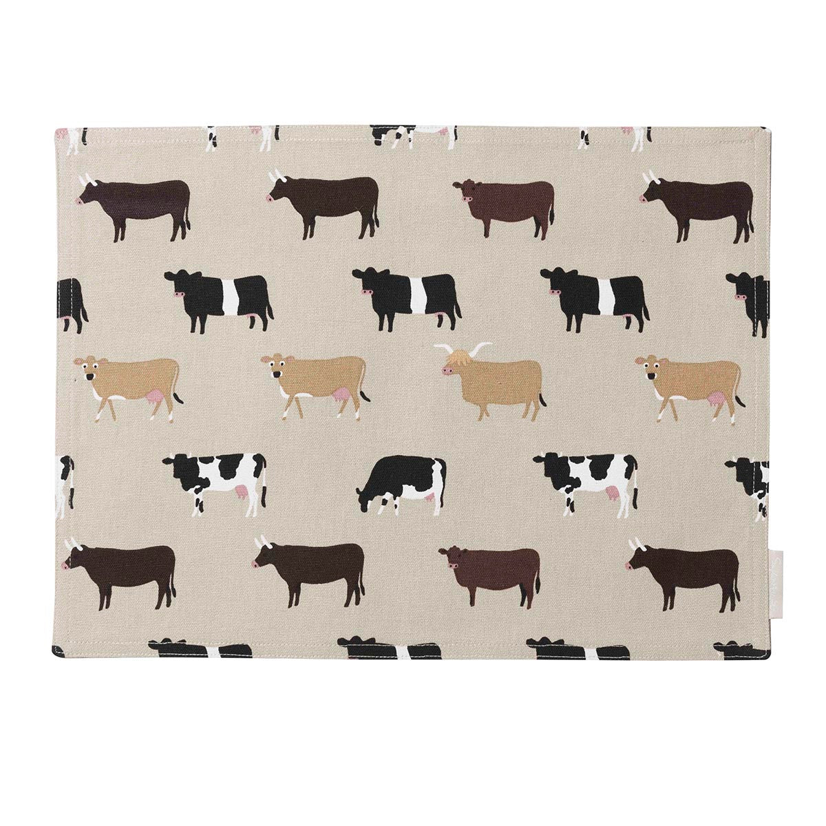 Cows Fabric Placemat