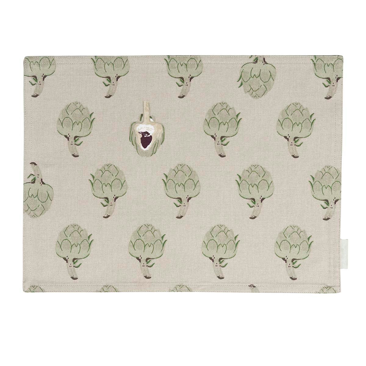 Artichoke Fabric Placemat