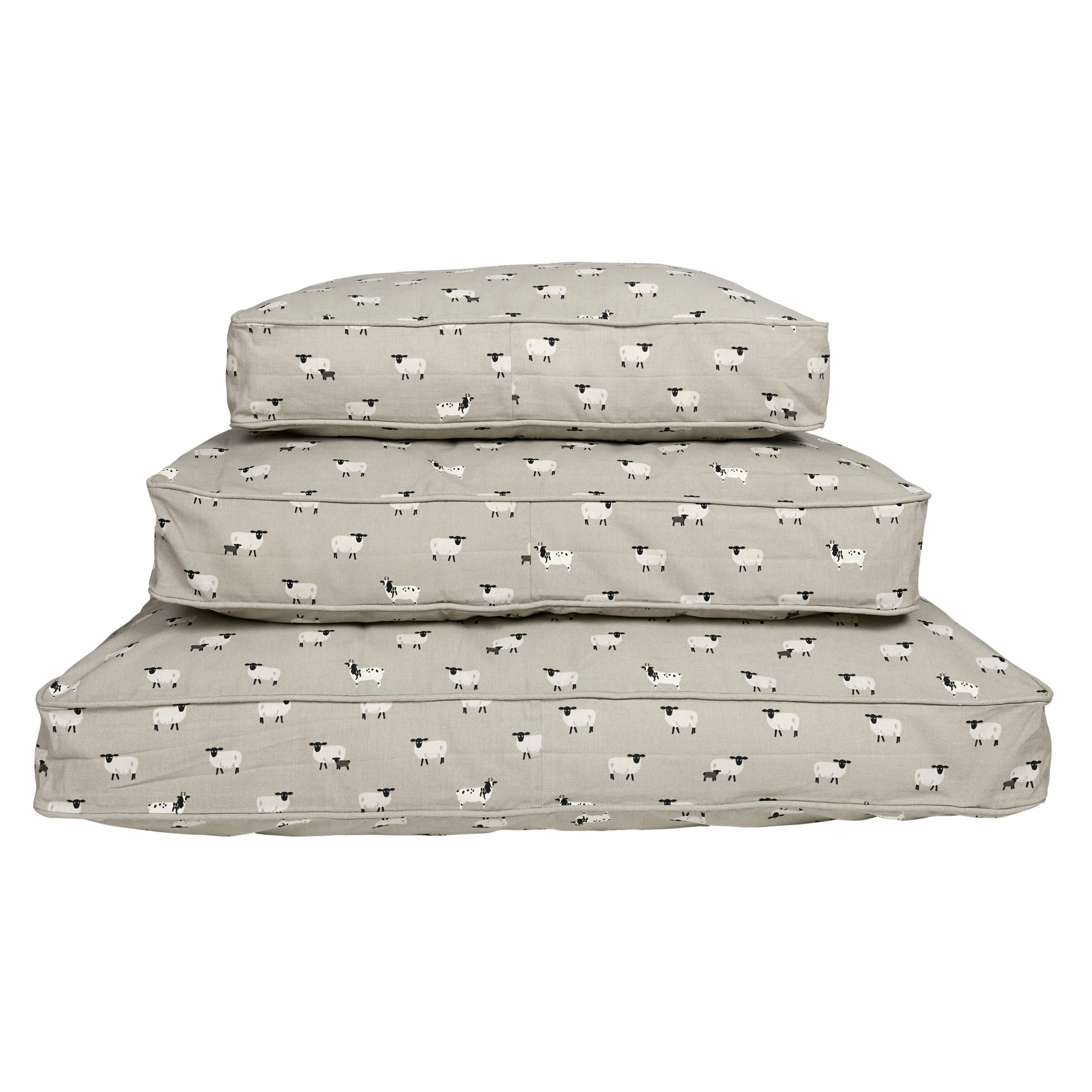 Sheep Pet Bed Mattress by Sophie Allport