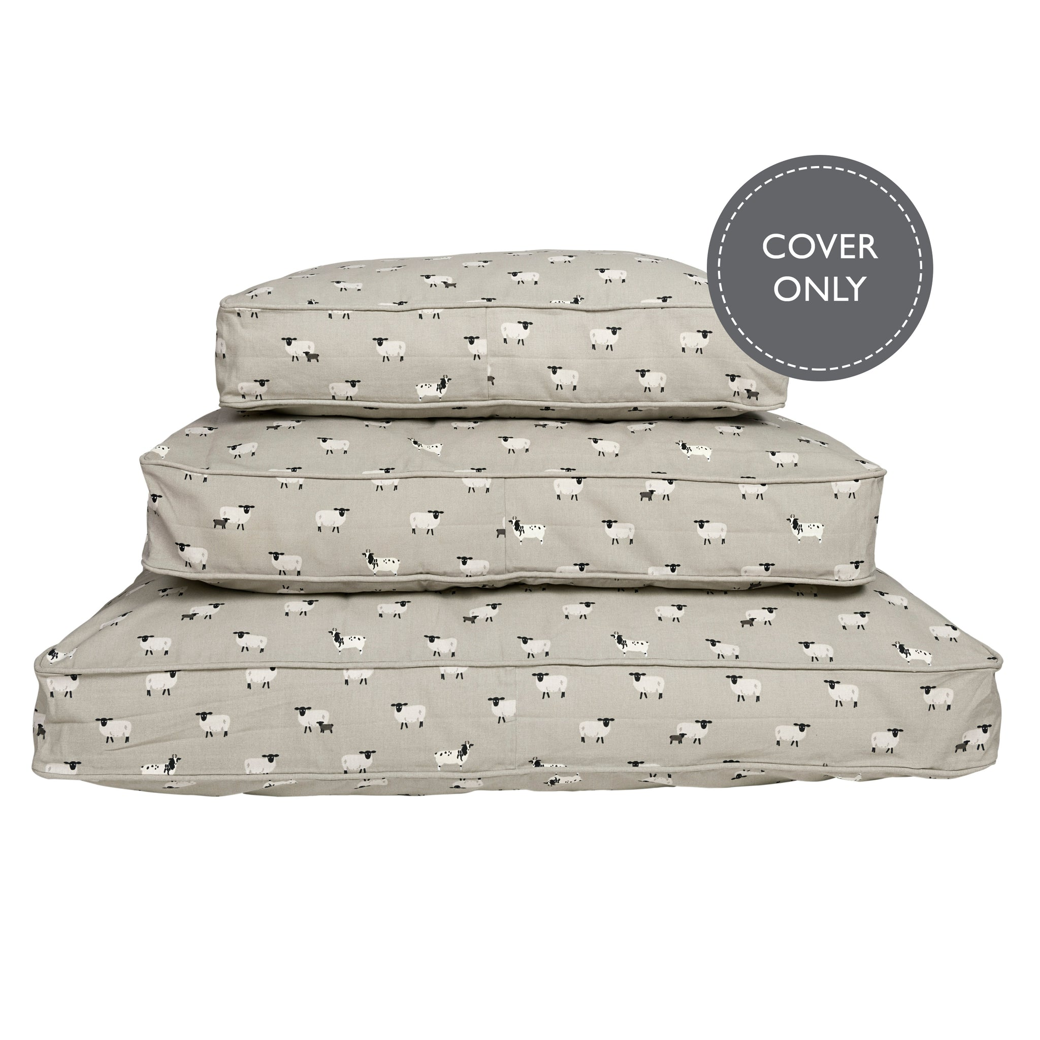 Sheep pet mattress cover by Sophie Allport