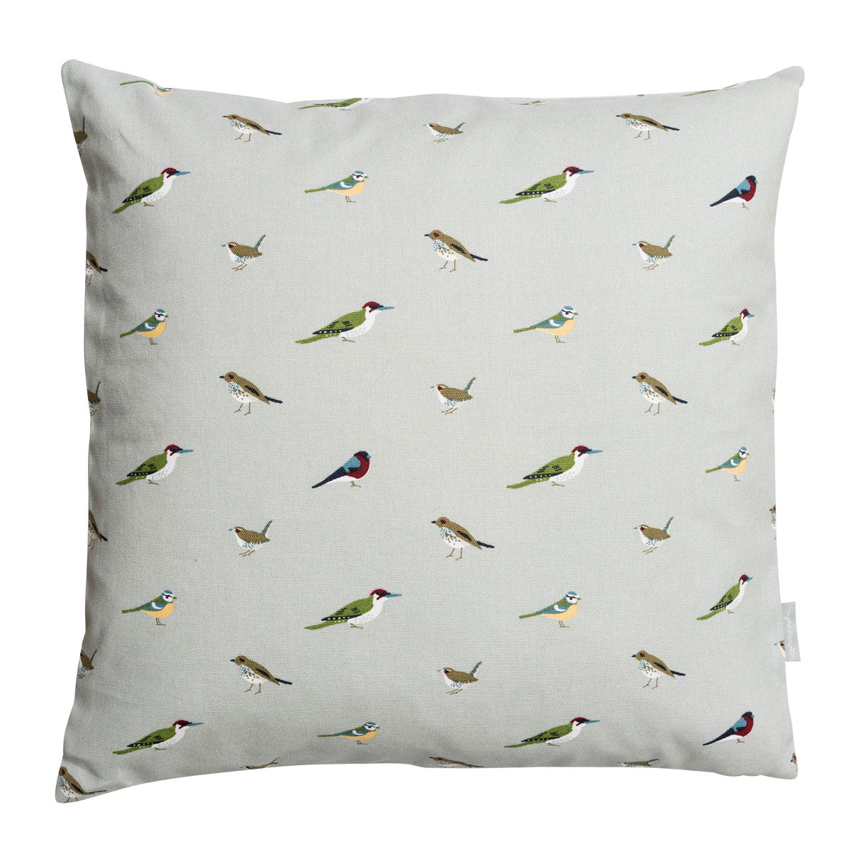 Garden Birds Cushion - 45cm x 45cm