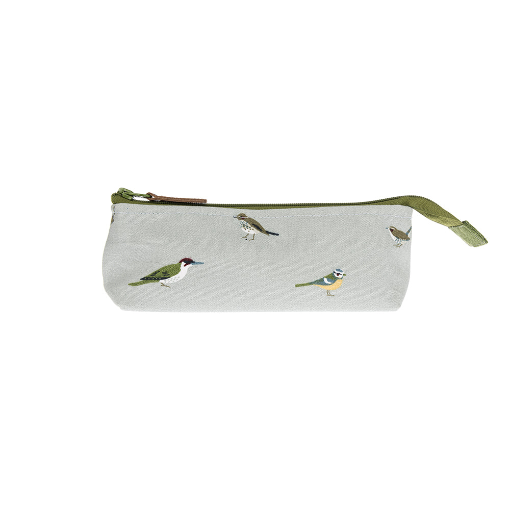 Garden Birds Canvas Accessory Case