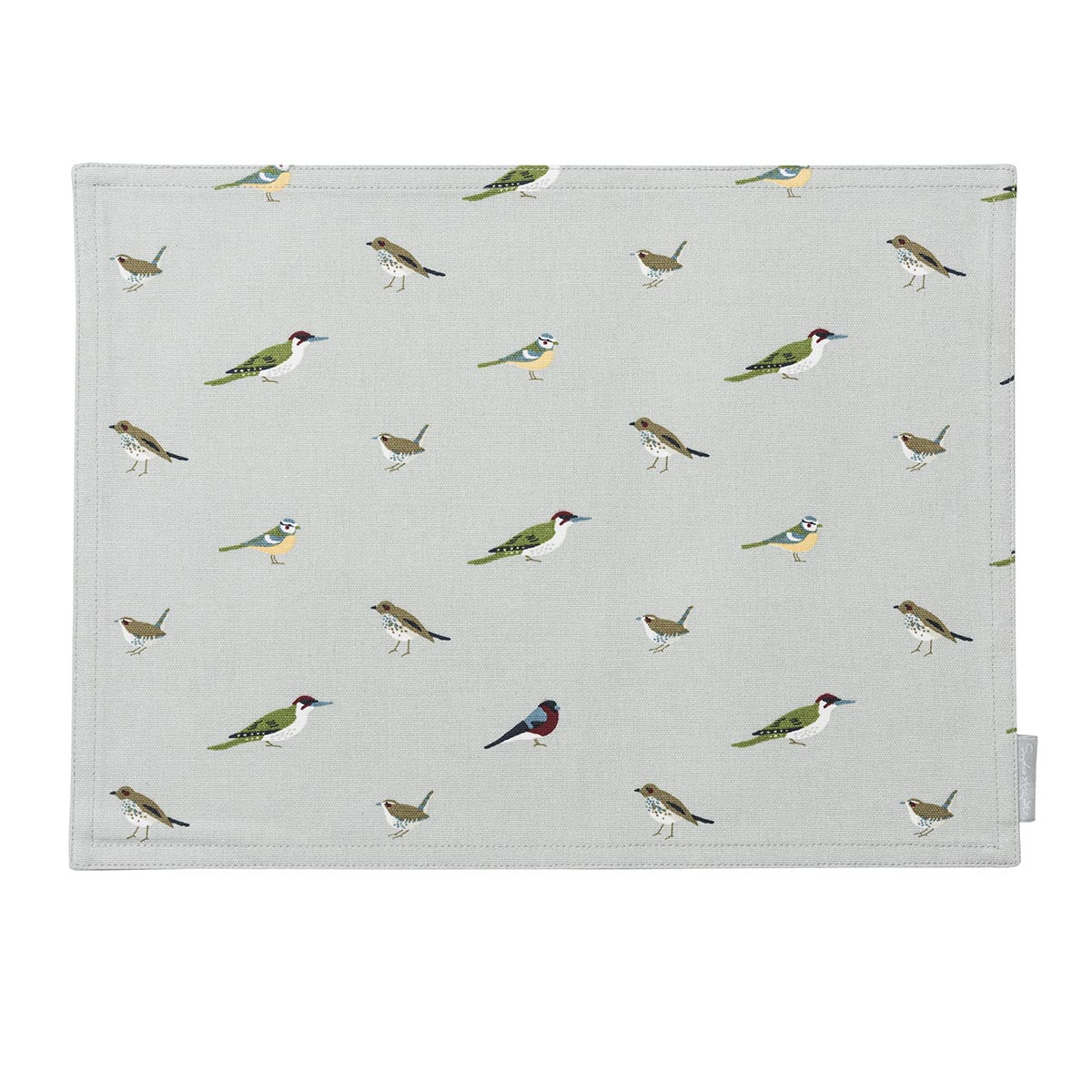 Garden Birds Fabric Placemat