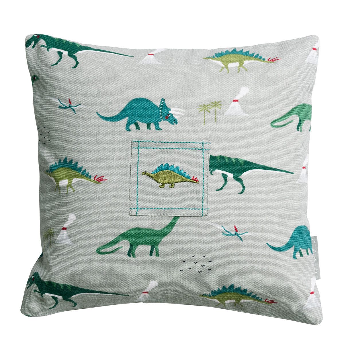 Dinosaurs Tooth Fairy Cushion