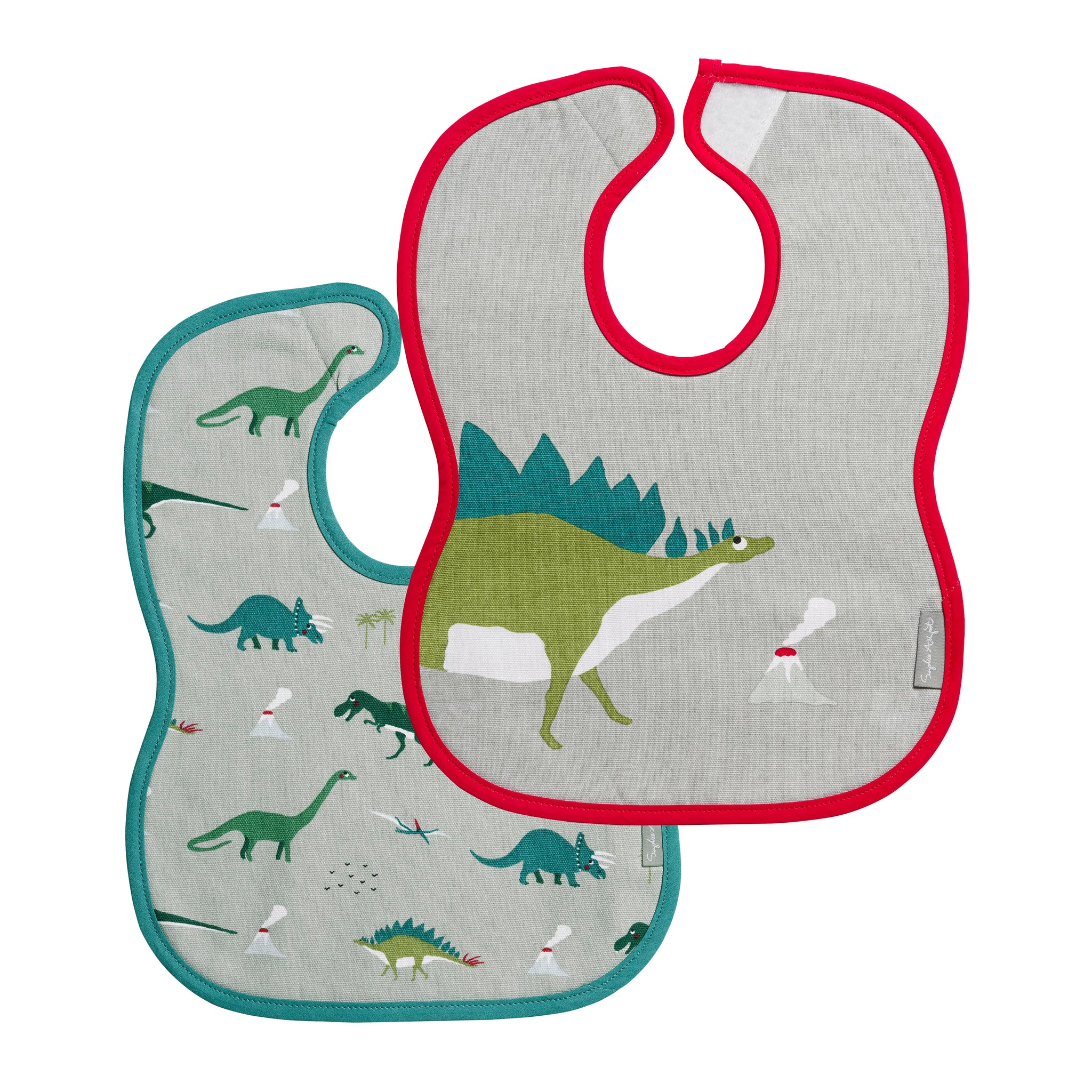 Dinosaur Bibs (Set of 2)