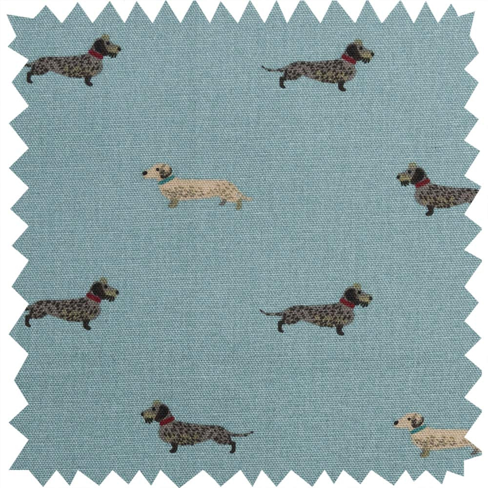 Dachshund Fabric Sample