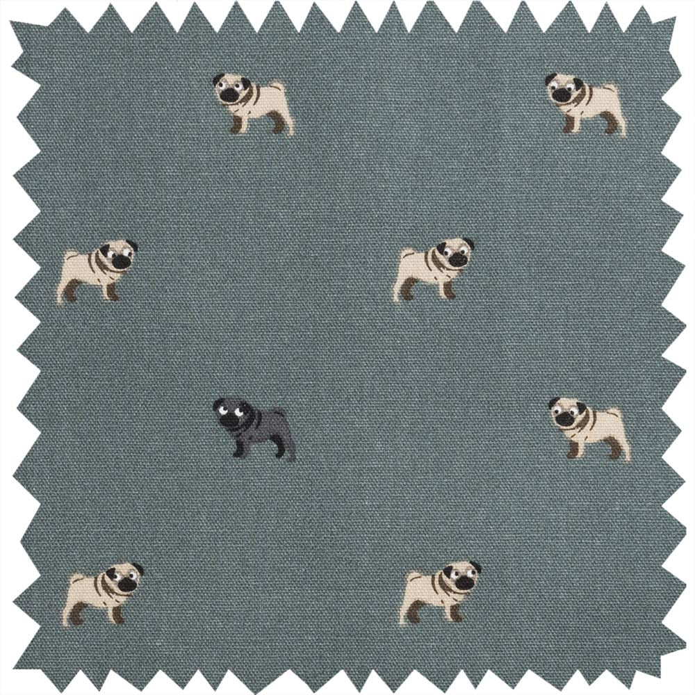 Pug Fabric Sample
