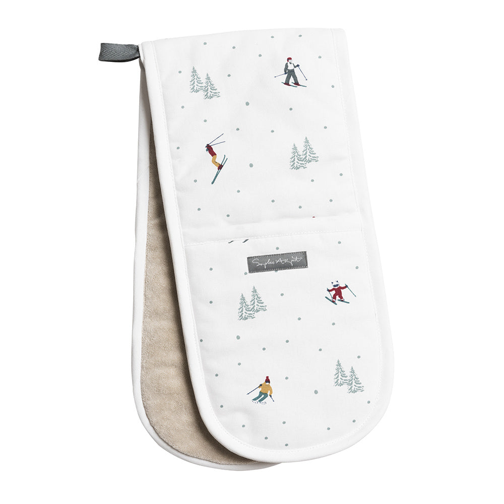 Skiing Double Oven Glove