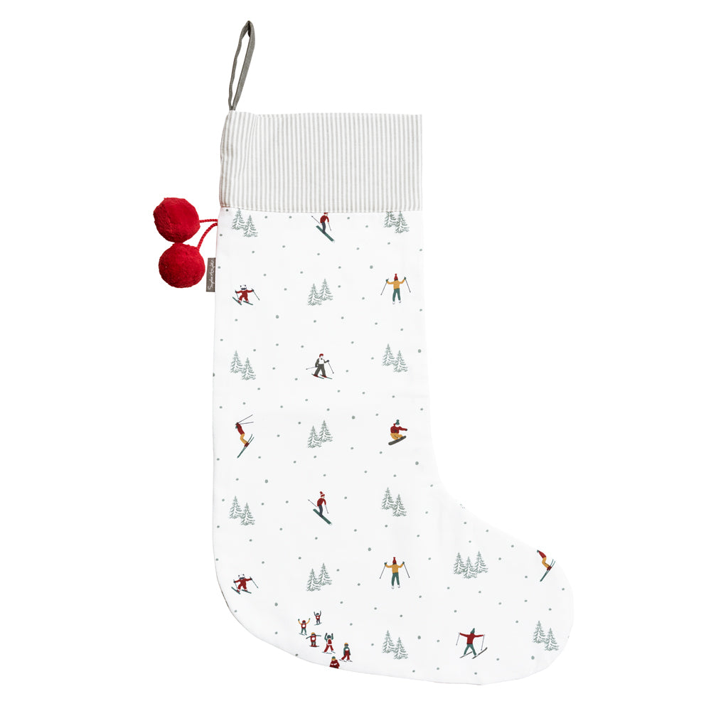 Skiing Christmas Stocking