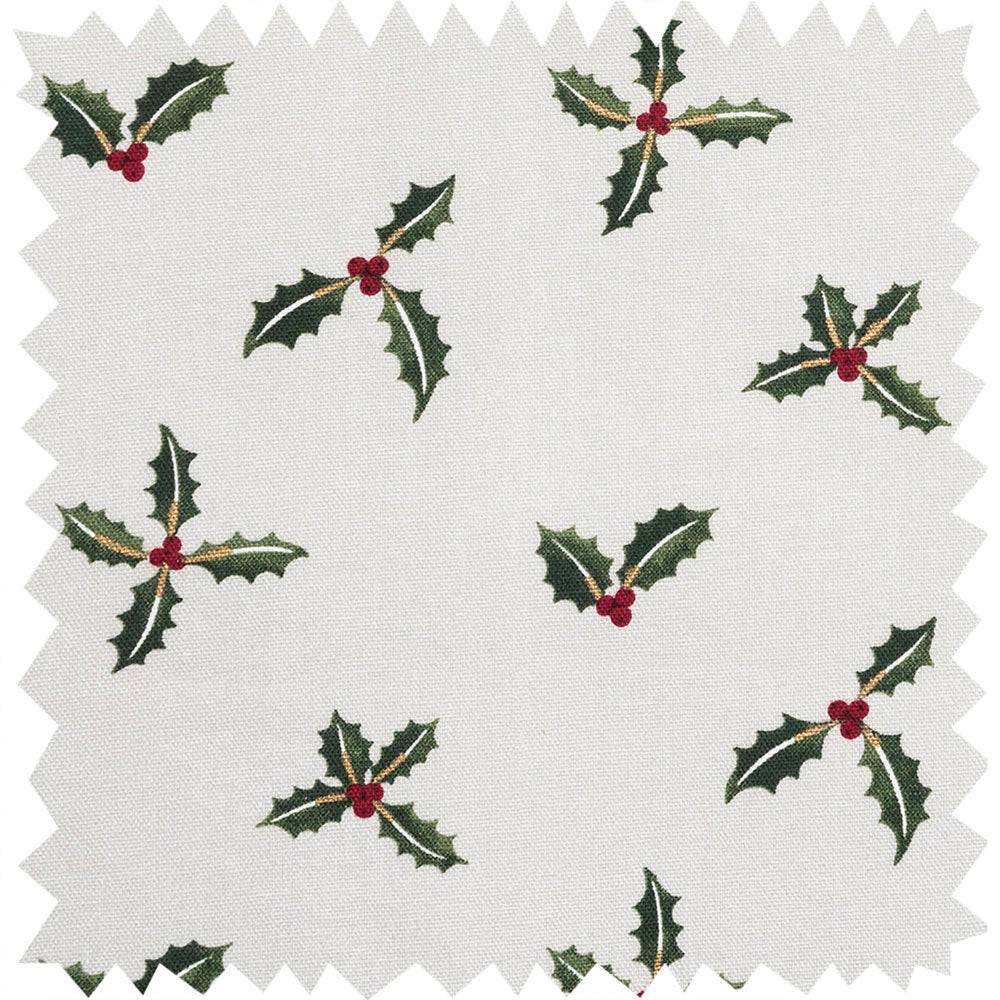 Holly & Berry Fabric by the Metre