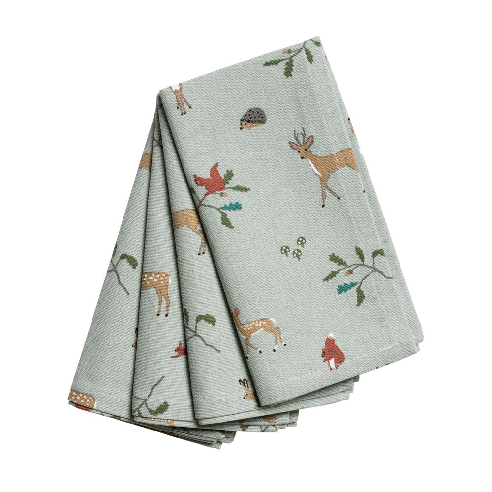 Woodland Napkins (Set of 4)