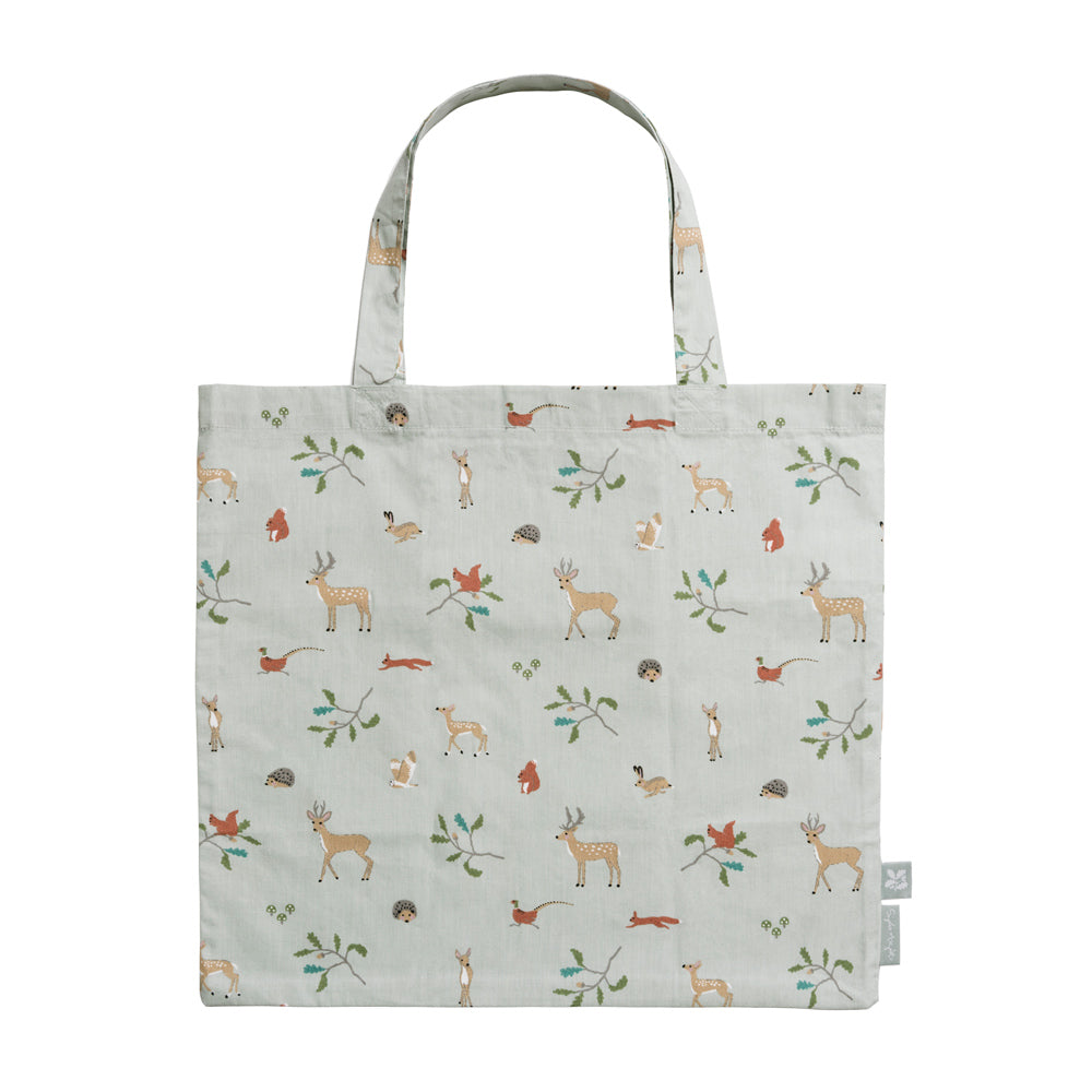 Woodland Folding Shopping Bag